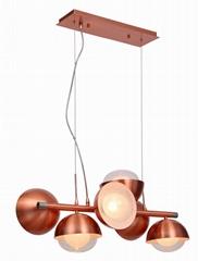 時尚創意雙層玻璃球吊燈 FD-8016-06