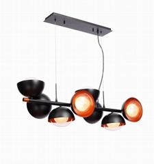 時尚創意玻璃球中球吊燈 FD-8016-08