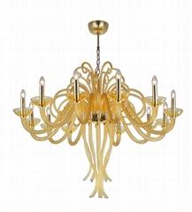 后現代時尚創意手工玻璃枝形吊燈客廳吊燈臥室燈 FD-8025-12