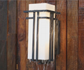 Outdoor Stainless Steel Wall Sconces with tempered Glass shade  IP54   FD-HW5002