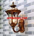 Outdoor Wall Sconce lamp with tempered