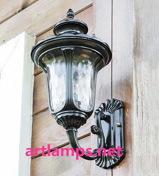 戶外防水壁燈歐式陽台室外牆壁燈復古庭院花園大門過道走廊燈  FD-HW5004 2
