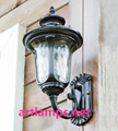 Outdoor Wall Sconce lamp with tempered Glass shade  IP54   FD-HW5004