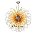 Hand blown glass pendant lamp Blown  Glass Chandelier lamps fixture