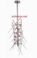 水晶玻璃棒吊燈創意歐式玻璃客廳