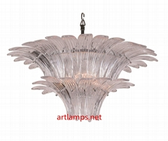 手工吹制玻璃吊燈簡約客廳燈創意臥室燈 FD-8055-3