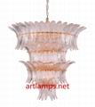 吹制藝朮玻璃吊燈創意簡約客廳燈