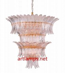 吹制艺术玻璃吊灯创意简约客厅灯