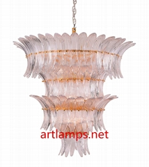 Designer Fine mouth blown  Art  Glass Chandelier  Fine art lamps  FD-8055-11