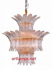 手工吹制藝朮玻璃吊燈簡約客廳燈創意臥室燈 FD-8055-7