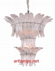 現代手工吹制玻璃吊燈簡約客廳燈創意臥室燈 FD-8055-6