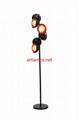 Handblown Glass Ball Shade Floor Lamp FD-DD8016-26