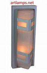 LED戶外防水壁燈陽台室外牆壁燈led庭院花園大門過道走廊燈  FD-HW5005