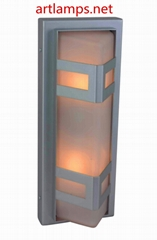 Outdoor LED Wall Sconce lamp with tempered Glass shade  IP54   FD-HW5005