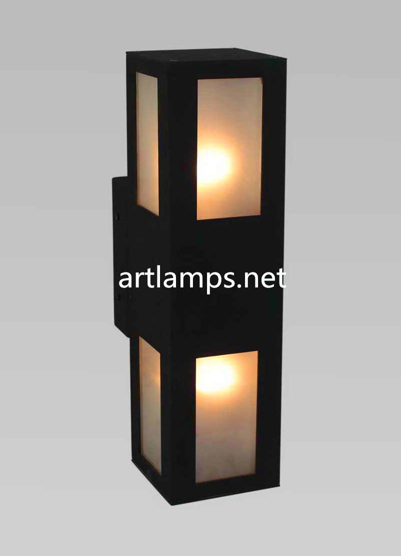 Outdoor LED Wall Sconce lamp LED Waterproof Stainless Steel Wall Lamp FD-HW5007 1