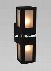 LED戶外防水壁燈led不鏽鋼壁燈LED庭院花園大門過道走廊燈  FD-HW5007