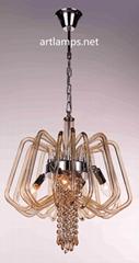 Modern Glass Chandelier Lamp  FD-8011-4