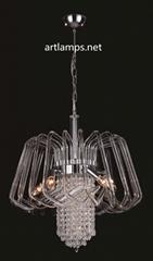 Modern Glass Designer Chandelier FD-8011-5