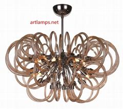 Modern Handmade Glass Designer Chandelier pendant lamp FD-8019-09