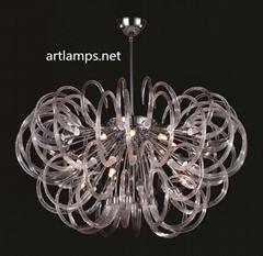 Modern Handmade  Glass Designer Chandelier/ Pendant Lamp  FD-8019-12