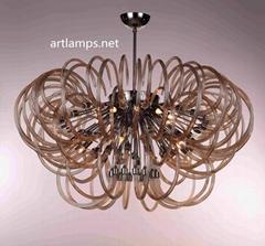 現代時尚創意手工玻璃吊燈 意大利玻璃吊燈 FD-8019-15