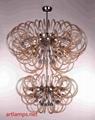 后現代時尚創意手工玻璃吊燈客廳