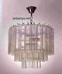 后現代玻璃吊燈北歐風格玻璃吊燈客廳吊燈臥室燈 FD-8038-4