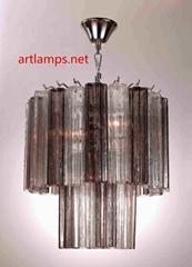后現代創意北歐風格玻璃吊燈簡約客廳燈臥室燈 FD-8038-40