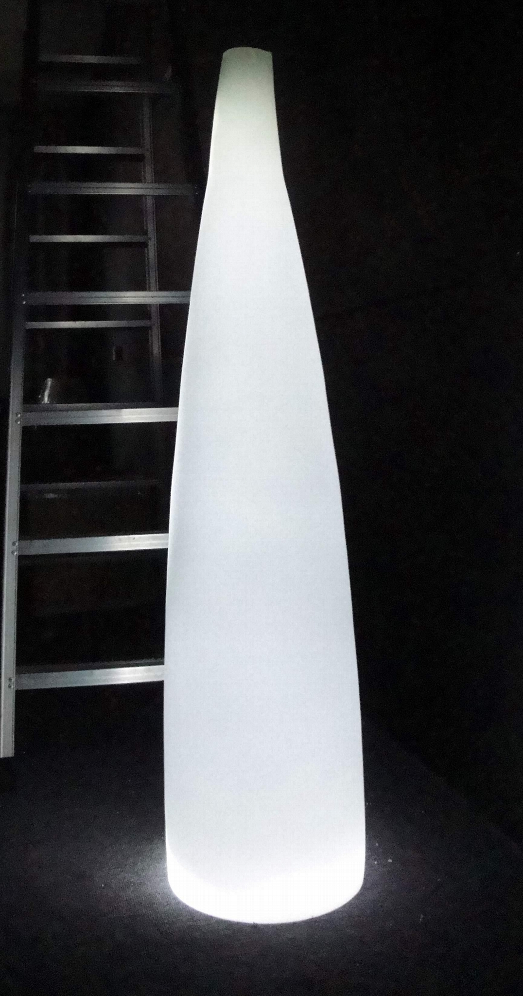 现代吹制艺术玻璃落地灯手工吹制艺术玻璃地灯 1