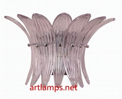Art Handblown Glass Wall Sconce Lamp  Fine Art Wall Lamps FD-BD8055-1