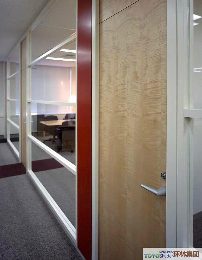 组合式钢质办公隔断墙 1