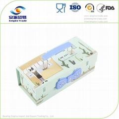 密碼鎖紙質文具盒鉛筆盒