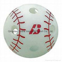 Baden Big Leaguer Wiffle Balls - 12 Pack