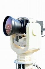 Maritime Long Range Surveillance PTZ Electro Optical Sensor MWIR Thermal Camera