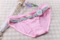 New Design Young girl patch work plaid bralette underwear sexy lingerie