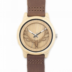 China watch factory sellig bobo bird wooden watch with gift paper box packing