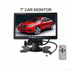 7 inch transparent 800x600 monitor  for car pc used lcd monitor