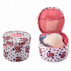 Korean Version Round Travel Cosmetic Bag