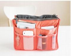 Korean Versioon Double Zipper Cosmetic Bag