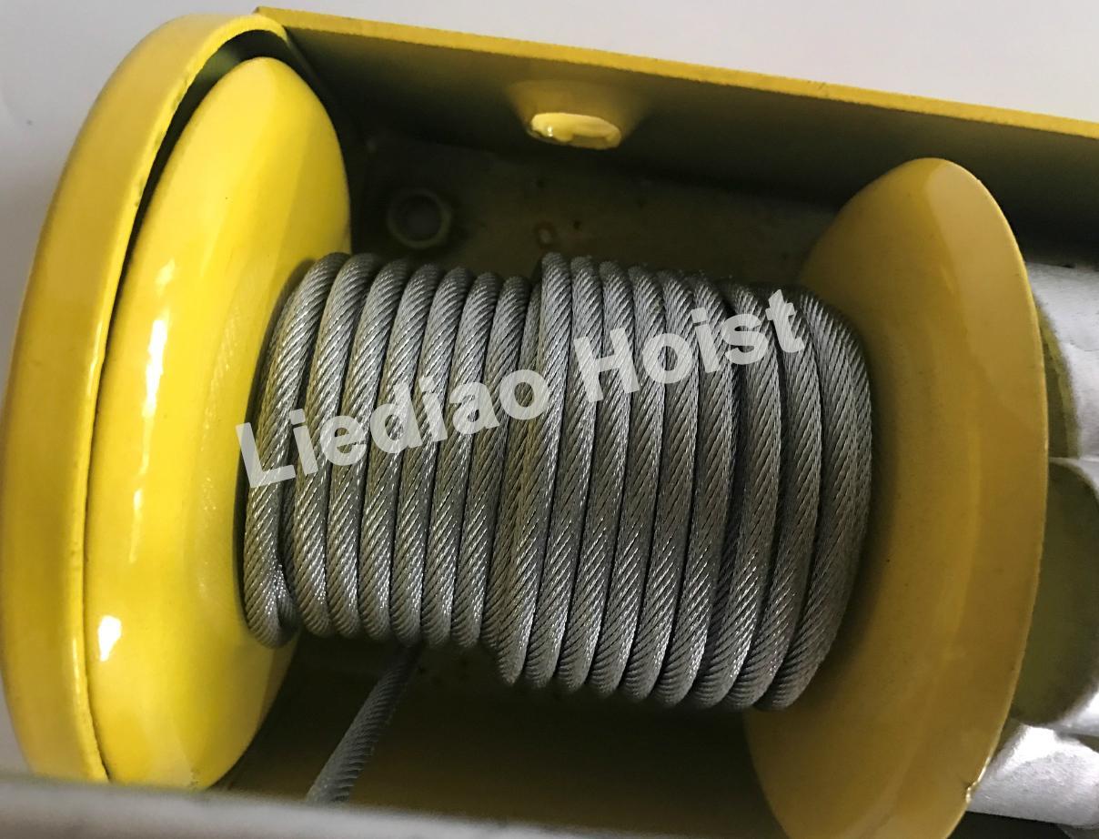 200kg Mini Wire Rope Electric Hoist 5
