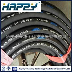 SAE 100 R2at Flexible High Pressuse Rubber Hydraulic Hose