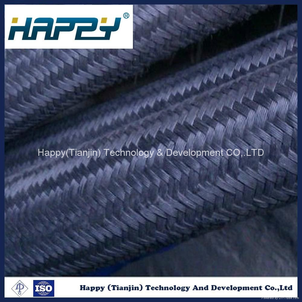 Wire Braided Reinforced Hydraulic Rubber Hose 2