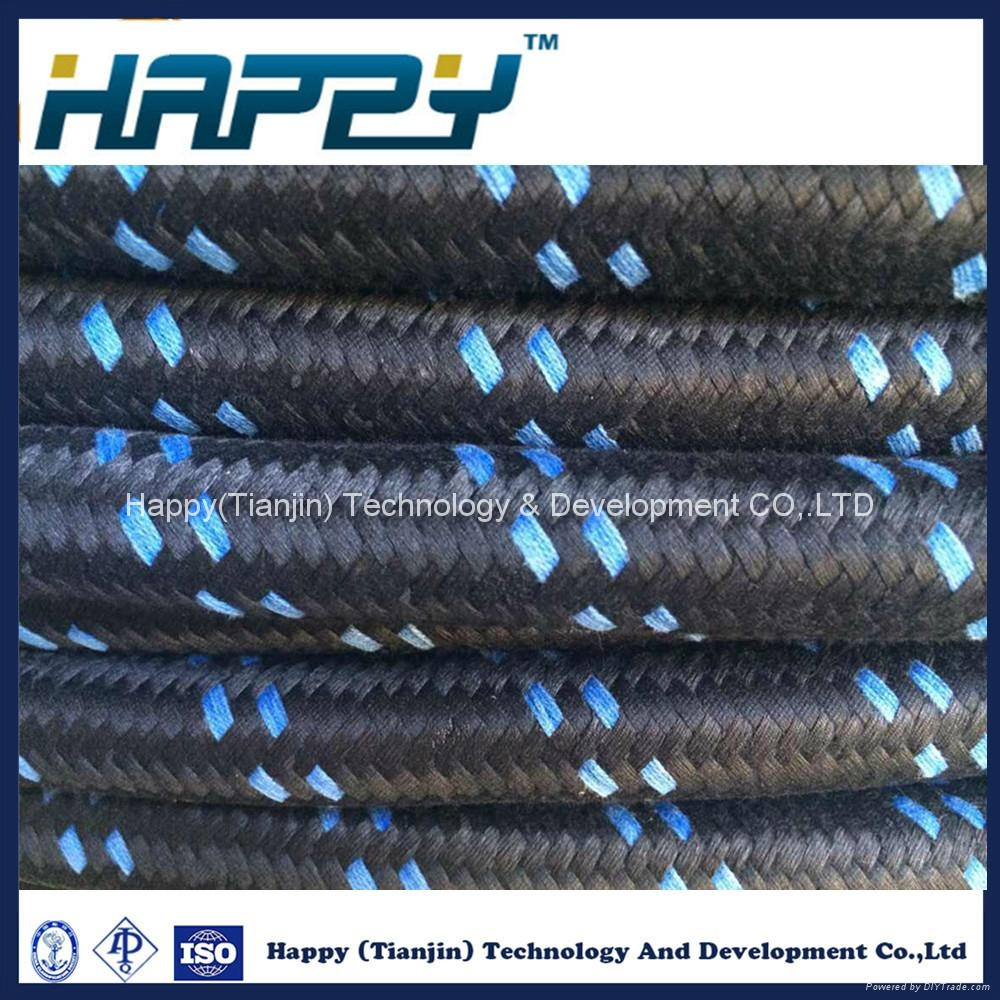 Wire Braided Reinforced Hydraulic Rubber Hose 5