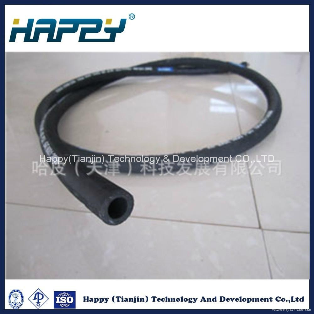 100r6 High Pressure Oil Resistant Tensile Braid Hydraulic Rubber Hose 2