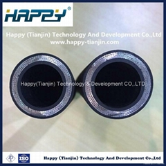 R9 Wire Reinforcement Flexible Industrial Hydraulic Rubber Hose