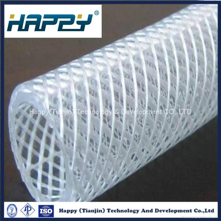 Customized Size Transparent Flexible Silicone Rubber Tube 2
