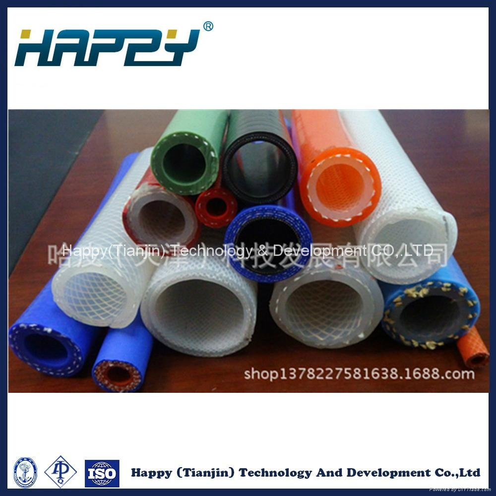 Customized Size Transparent Flexible Silicone Rubber Tube 1