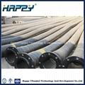 Industrial Big Diameter Flexible Hydraulic Rubber Hose 3