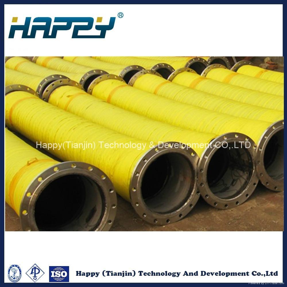 Industrial Big Diameter Flexible Hydraulic Rubber Hose 1