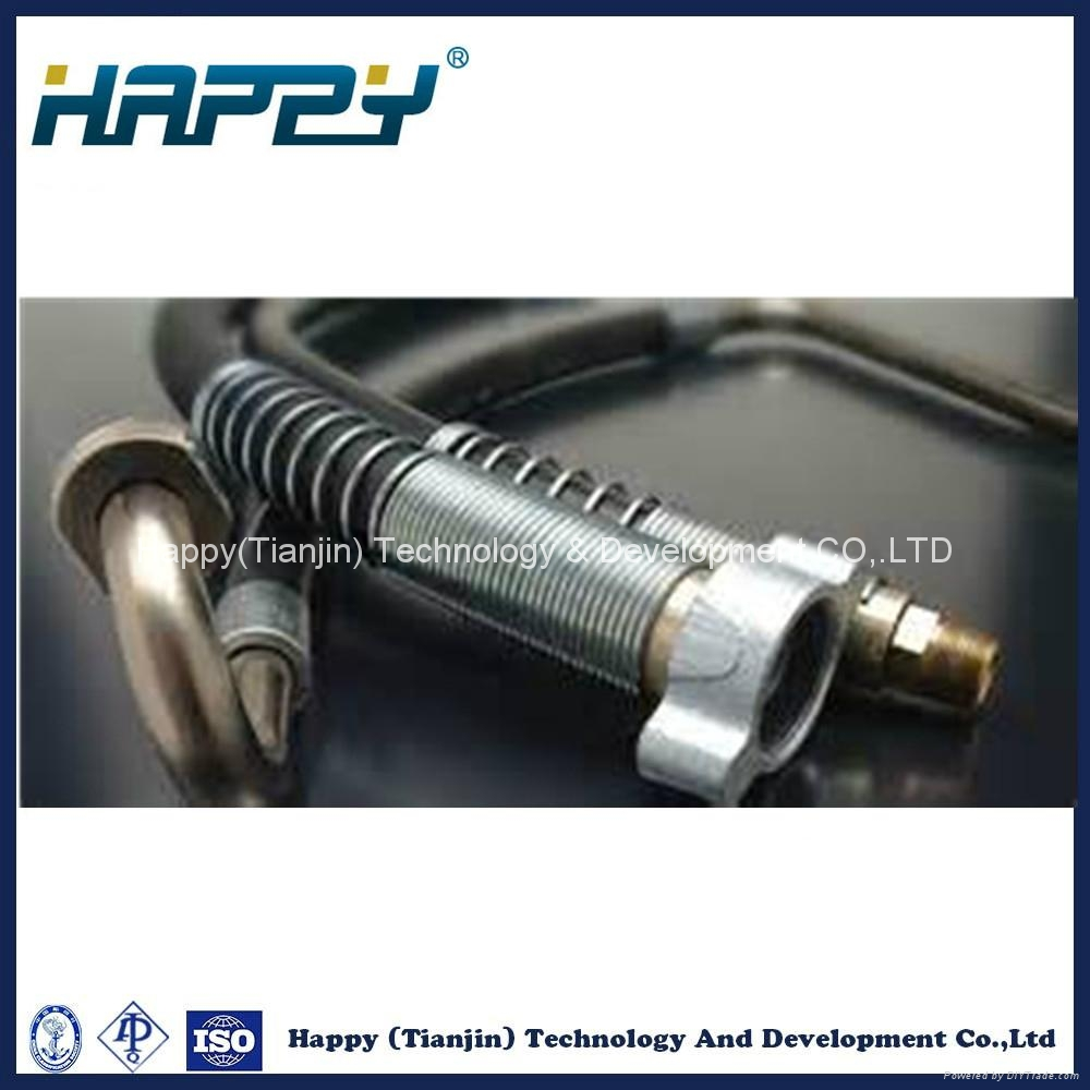 Chinese Hydraulic Rubber Hose Assembly Pipe Fitting 4